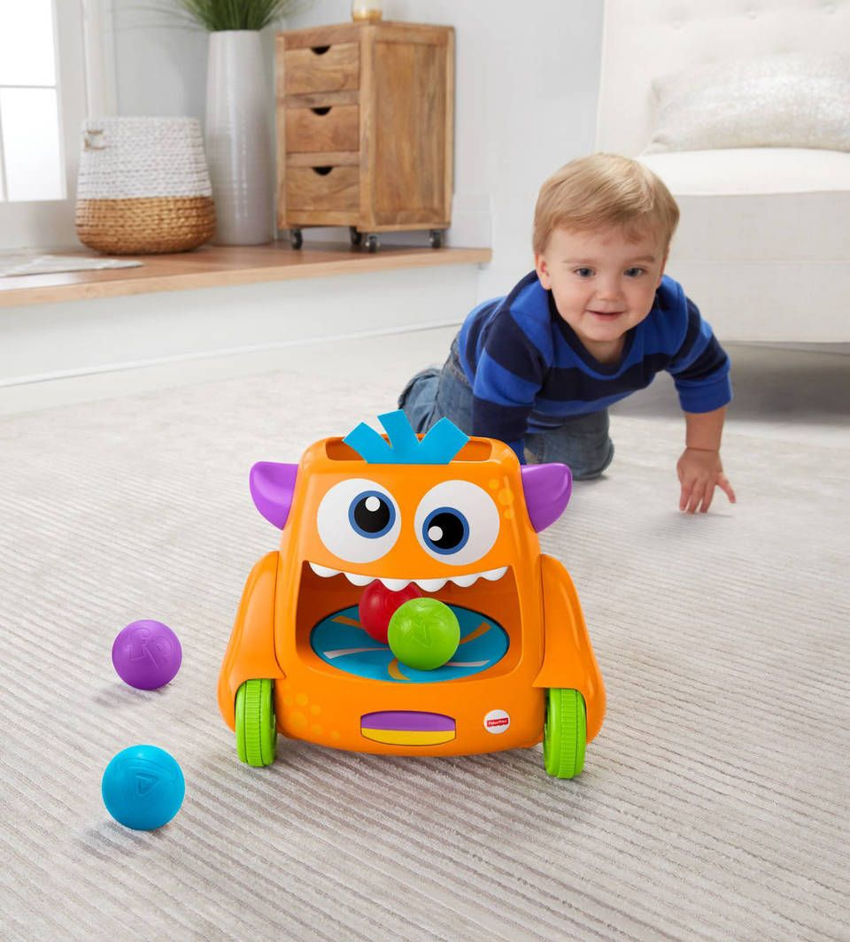 Fisher-Price Zoom 'n Crawl Monster | 8 month old baby ...