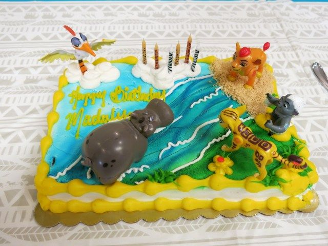 30 Inspiration Image Of Kroger Birthday Cake Lion Guard From With Animal Print Candles My Girls