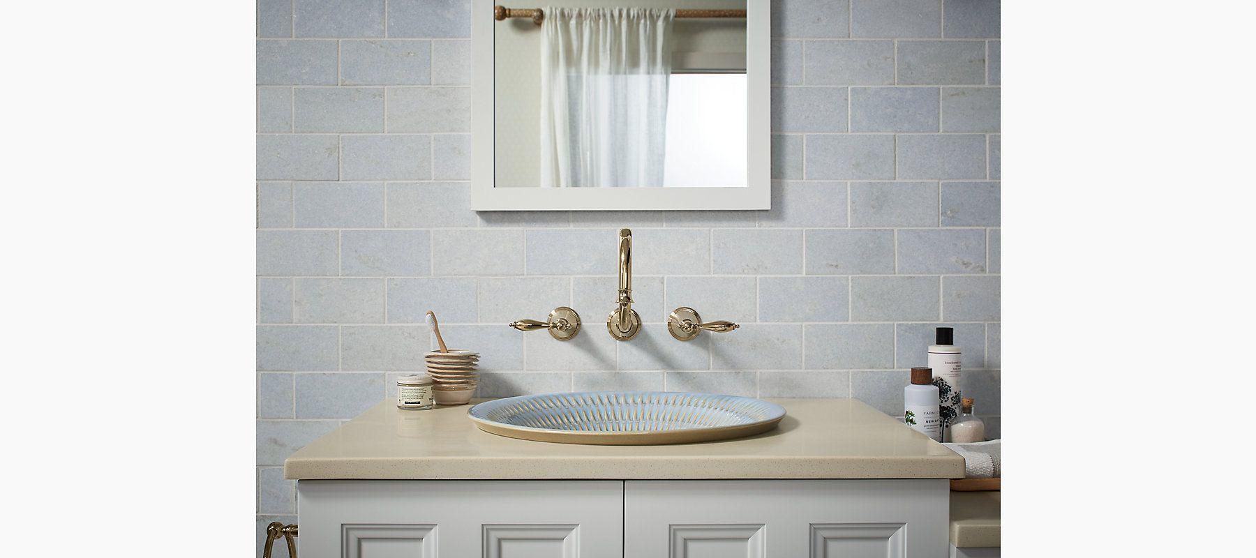 K 17890 Derring Design On Carillon Wading Pool Bathroom Sink