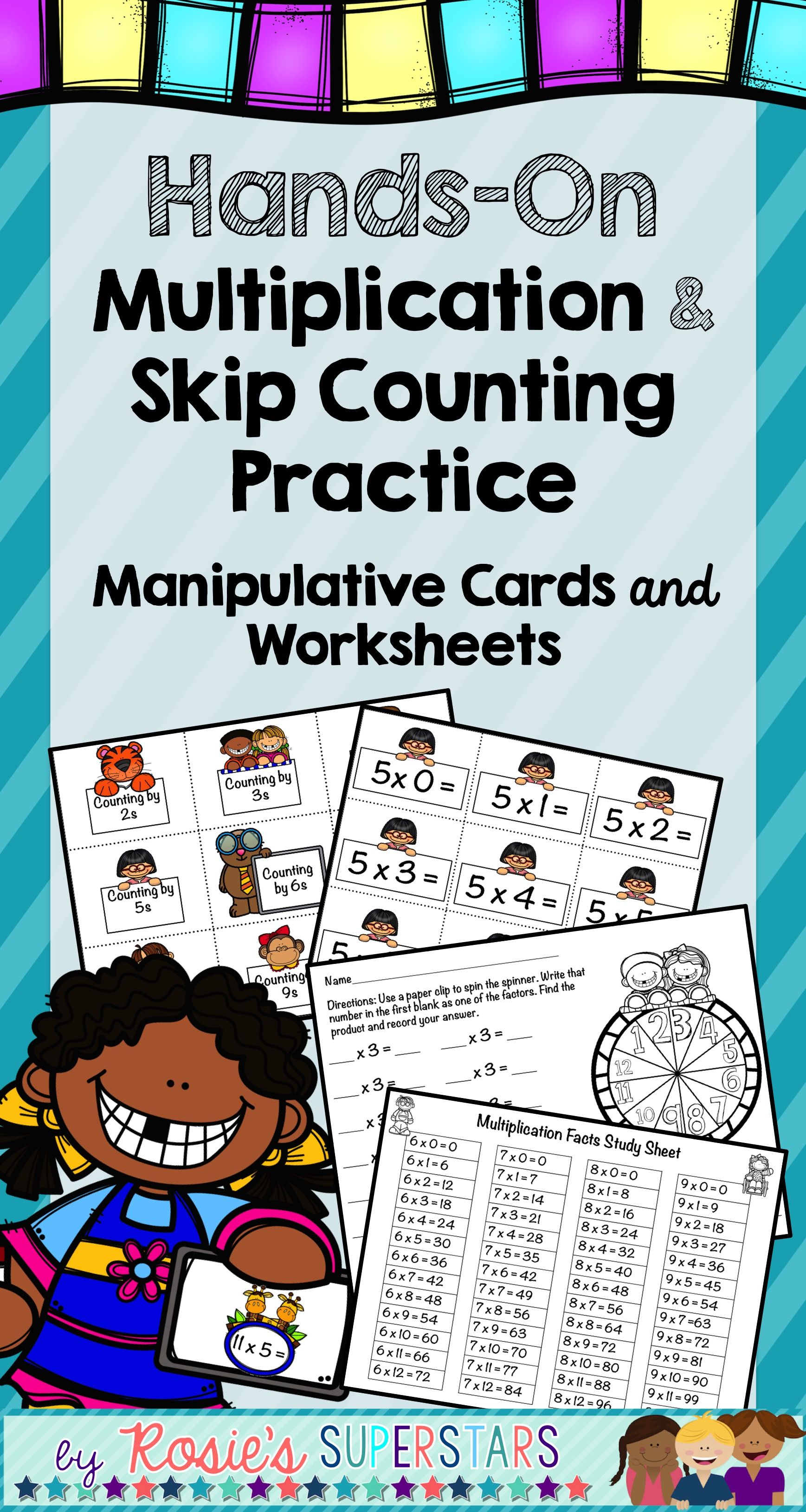 Hands On Multiplication And Skip Counting Manipulative
