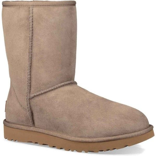 UGG Women's Classic Short II Brindle Boots ($160) ❤ liked on Polyvore  featuring shoes