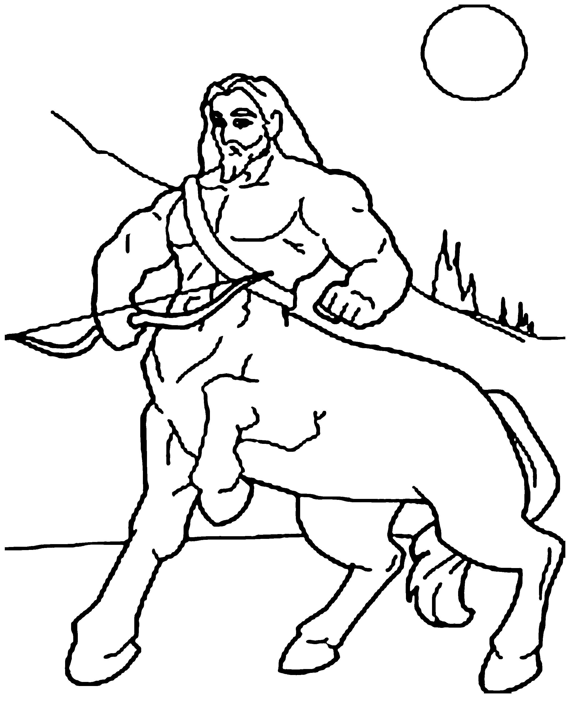 Bout Hunting Coloring Pages For Kids Cae Printable Centaurs Coloring Pages For Kids