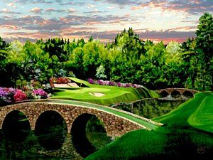Bridge Painting - The Beauty Of The Masters by Ron Chambers