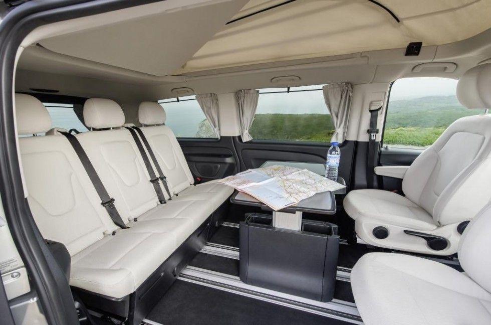 Mercedes Benz Marco Polo Activity 220 Cdi Interior Crystal Grey Santiago Mercedes Mercedes Benz Marco Polo