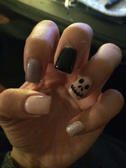 Halloween Nail Art Ideas for Girls