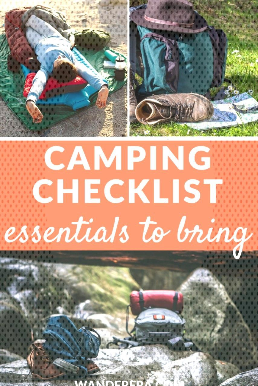 Your camping checklist could be either short or long depending on the circumstances of your camping