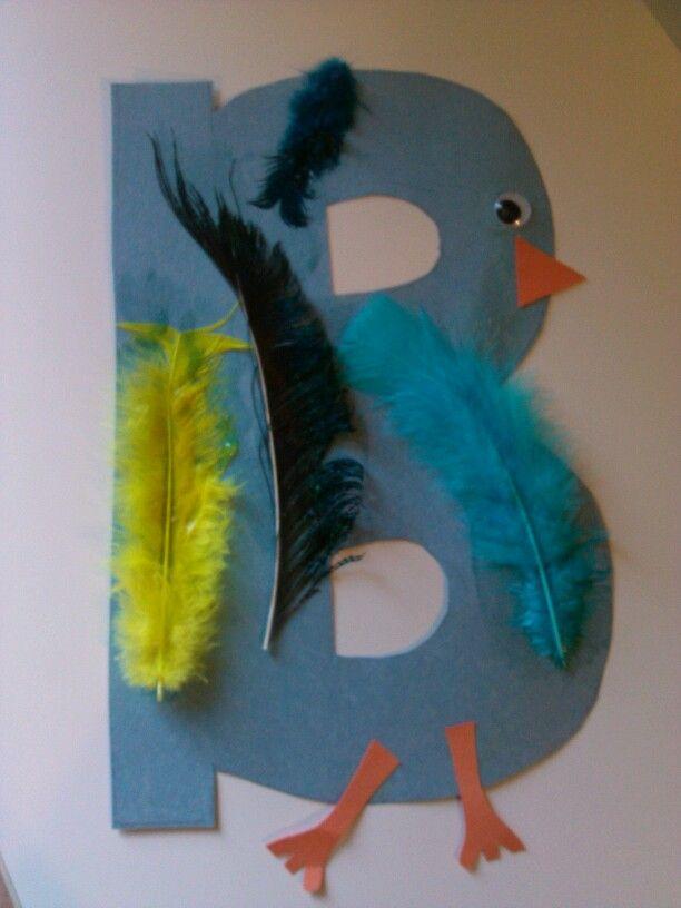 B Art: Letter B Craft Koltyn Made For Letter Week