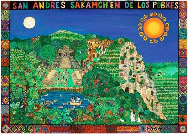 'San Andrés', Beatriz Aurora / pintura, arte zapatista