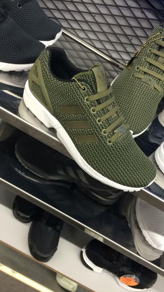 huge discount dd4f2 78ab8 Adidas Flux. Olive Green. JD Sport.   Adidas   Adidas ...