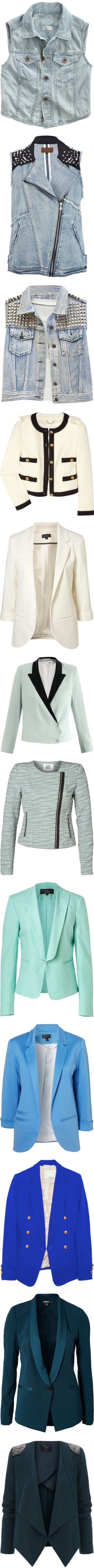 """""""Jackets & sim."""" by kica95 ❤ liked on Polyvore"""