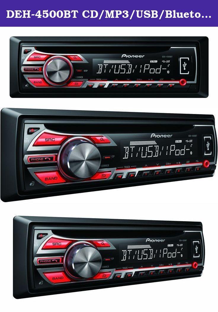 DEH-4500BT CD/MP3/USB/Bluetooth/iPod car radio  AUX Input M… | Car