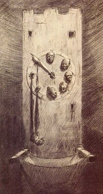 Alfred Kubin, The Hour of Death, 1900