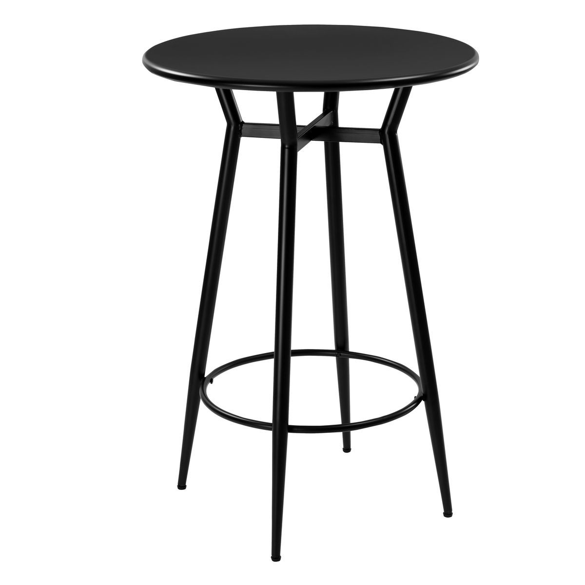 Table De Bar Noir.Table De Bar Homer En Metal Noir Products Table De Bar