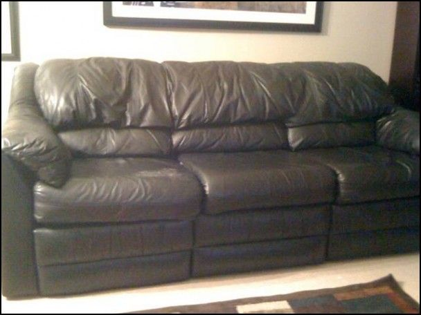 Second Hand Leather Sofa For