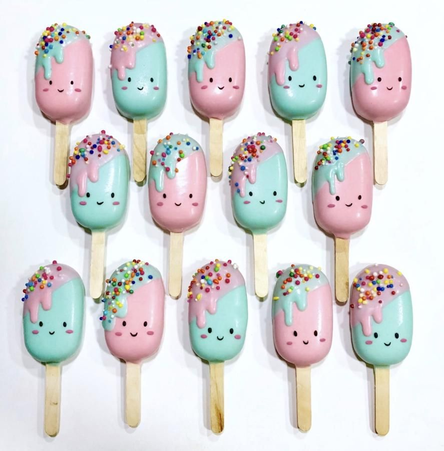 Baby Ice cream Cakesicles , cake by Joonie Tan in 2019