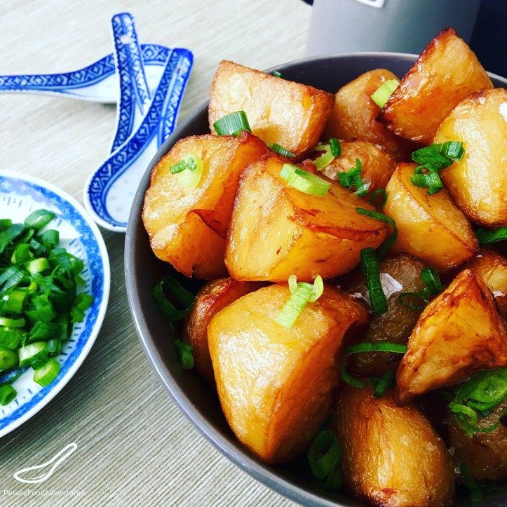 Chinese Roast Potatoes in a Master Stock are the most flavourful, crispy potatoes I've ever eaten. Have you ever heard of Chinese Roast Potatoes, and what is a Master Stock? To explain Chinese Roast Potatoes in a Master Stock, I'll start with the Master Stock. I think Wikipedia defines it best. A master stock (Chinese: 鹵水 …