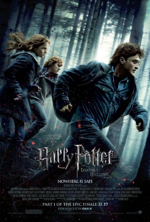 Harry Potter And The Deathly Hallows Part 1 2010 Harry Potter Movie Posters Deathly Hallows Part 1 Harry Potter Movies