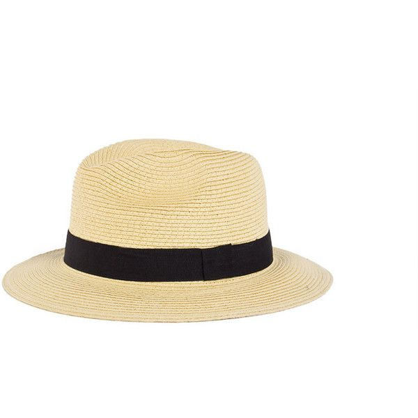Wide Brimmed Fedora - 2020AVE ($18) ❤ liked on Polyvore