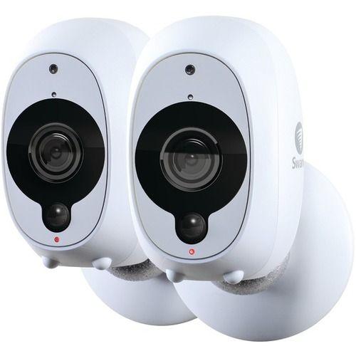 Swann SWWHD-INTCAMPK2-US 1080p Full HD Battery-Powered Wire-Free Camera (2pk)