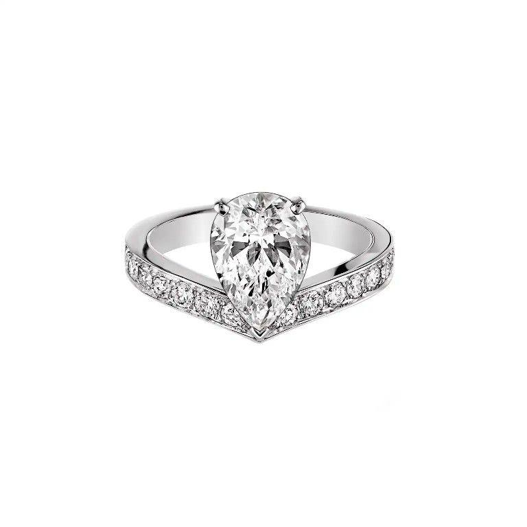 Chaumet Josephine Aigrette Diamond Engagement Ring