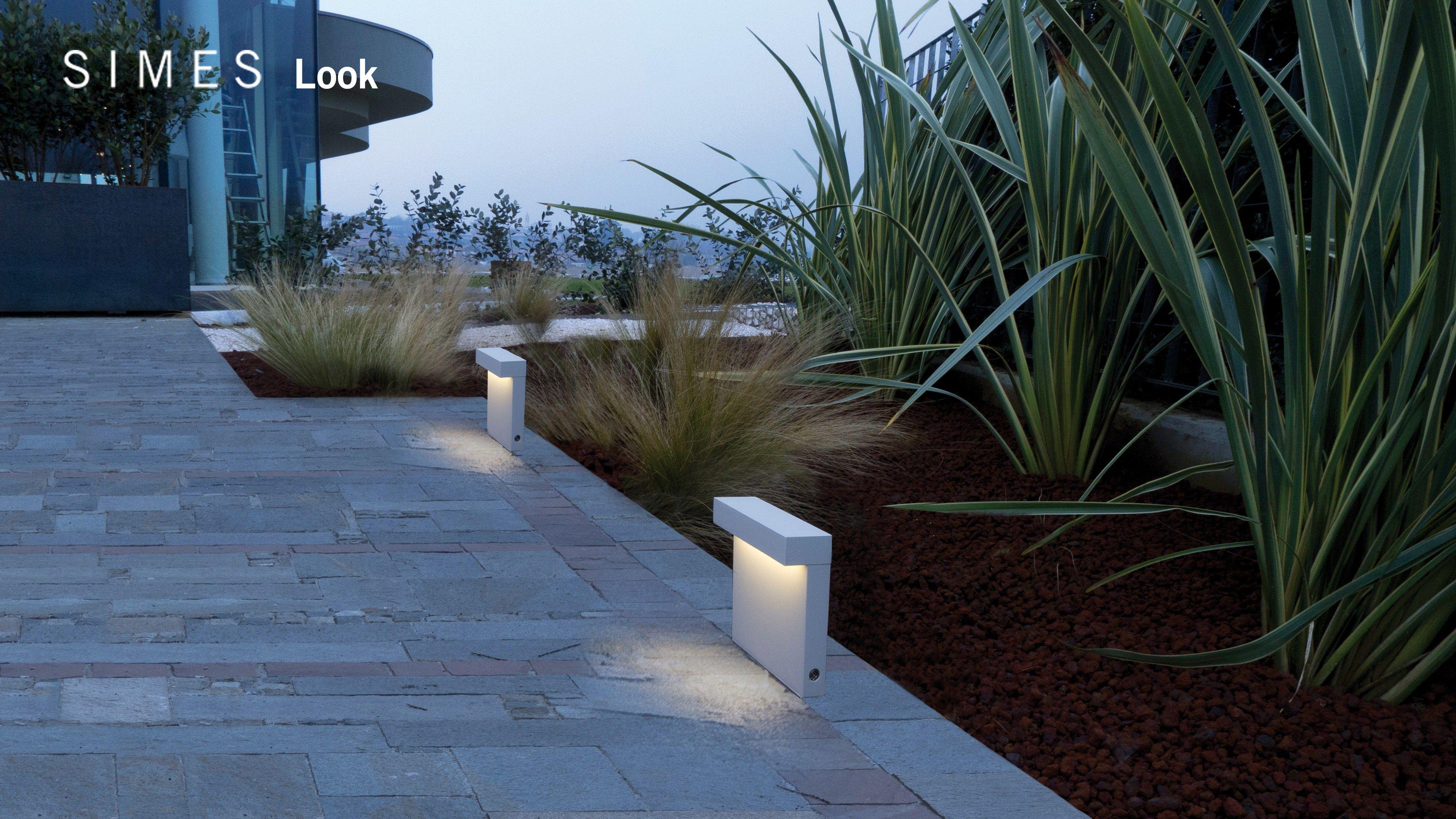 Look Led Wandleuchten By Simes Landschaftsbeleuchtung Licht Im Garten Aussenbeleuchtung