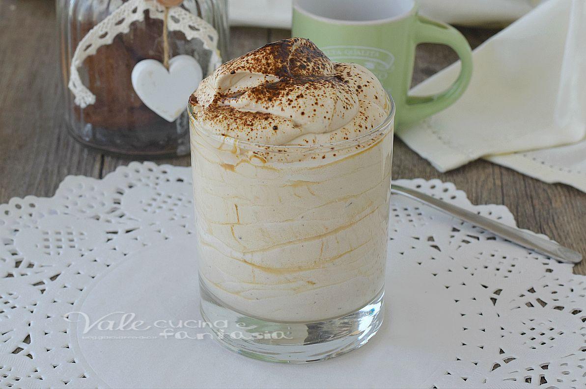 Crema al cappuccino senza uova e senza cottura (vale cucina e ...