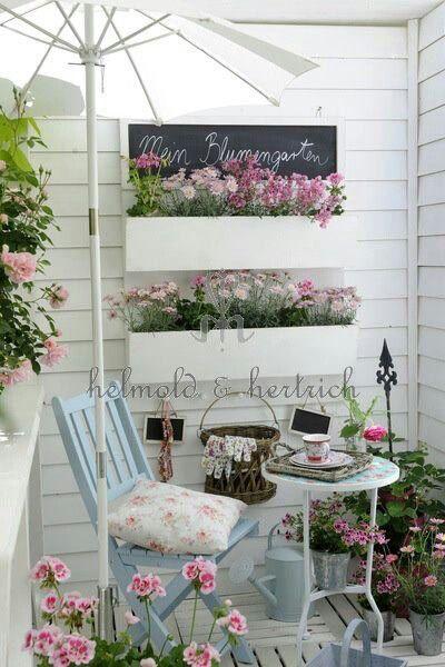 Otro Rincón Con Flores Diseño Decoracion De Terrazas