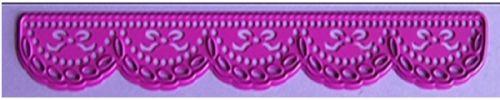 Joy! Crafts Dies - 6002-0098 - Border Diesen måler ca: 15cm x 1.7 cm