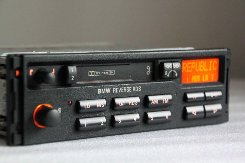 bmw blaupunkt reverse rds tape cassette radio e28 e30 e31. Black Bedroom Furniture Sets. Home Design Ideas