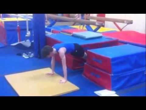 drill or progression to learn a press to handstand in