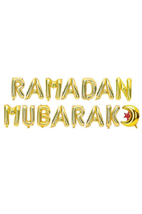 The Ultimate Ramadan Mubarak Inflatable Balloon Banner Shop It Now Amaliah Ramadan Balloon Banner Ramadan Kareem