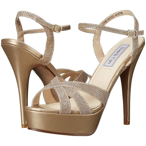 Touch Ups Cori Platform Sandal(Women's) -Silver Shimmer Buy Cheap Clearance Store Footlocker Online Free Shipping Pay With Visa Pictures ofv79