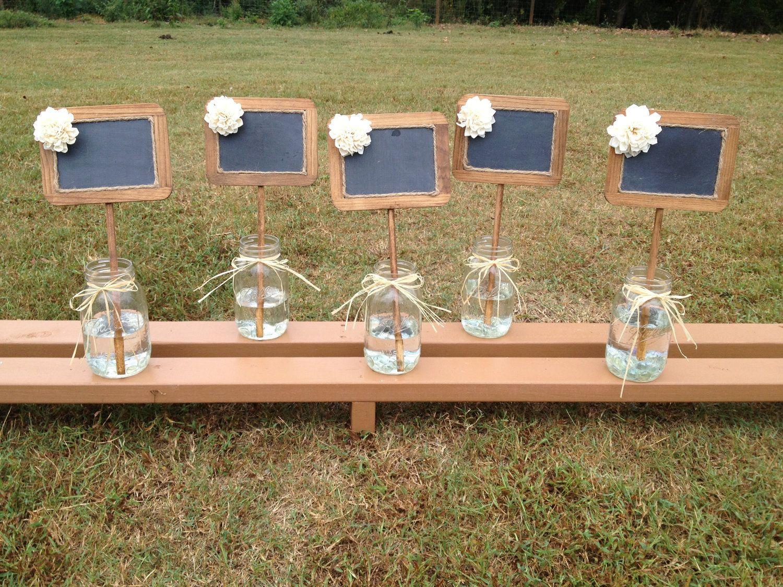 Rustic Wedding Chalkboard Signs