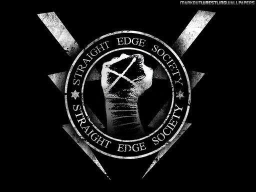 Straight Edge Society   Straight Edge   Cm punk, Punk, Wwe ...Straight Edge Desktop