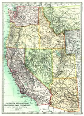 United States Pacific States Includes California Oregon Utah