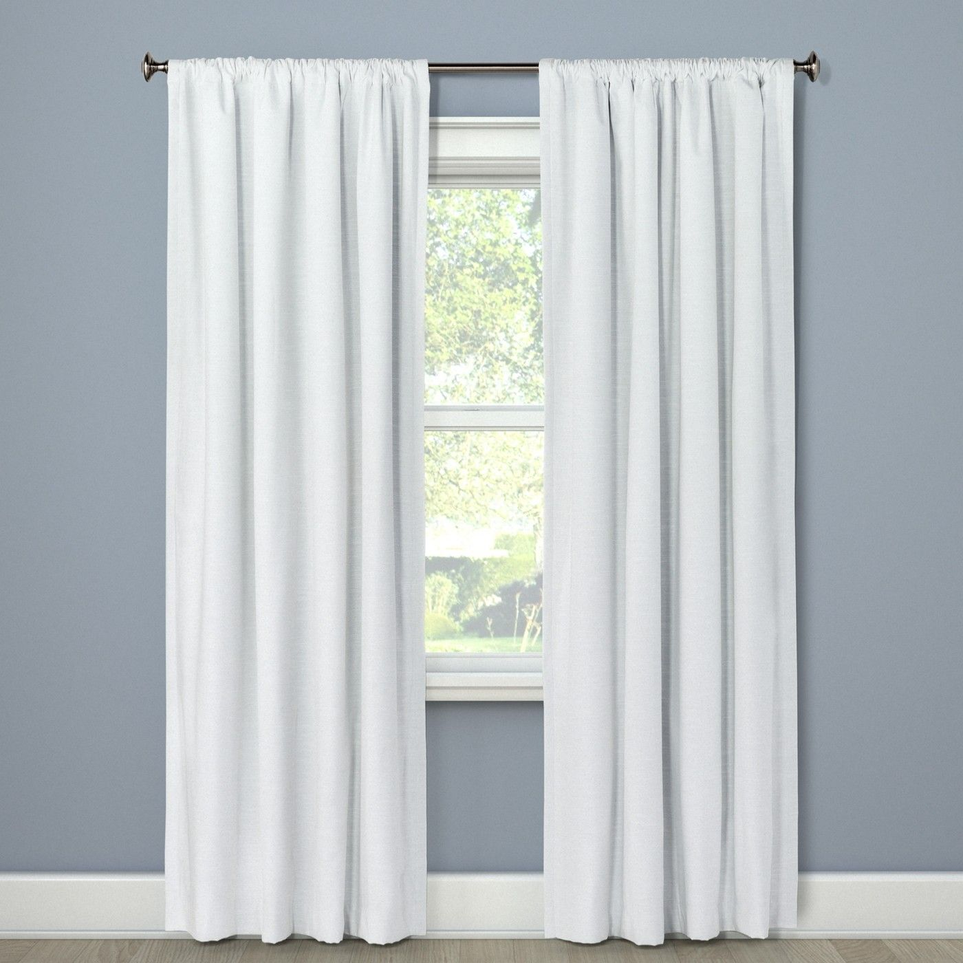 Henna Blackout Curtain Panel Project 62 White Paneling