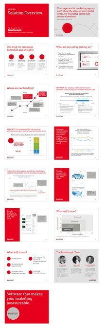 Modern Sales Presentation \/ Template Desired by mylamorales - sales presentation template