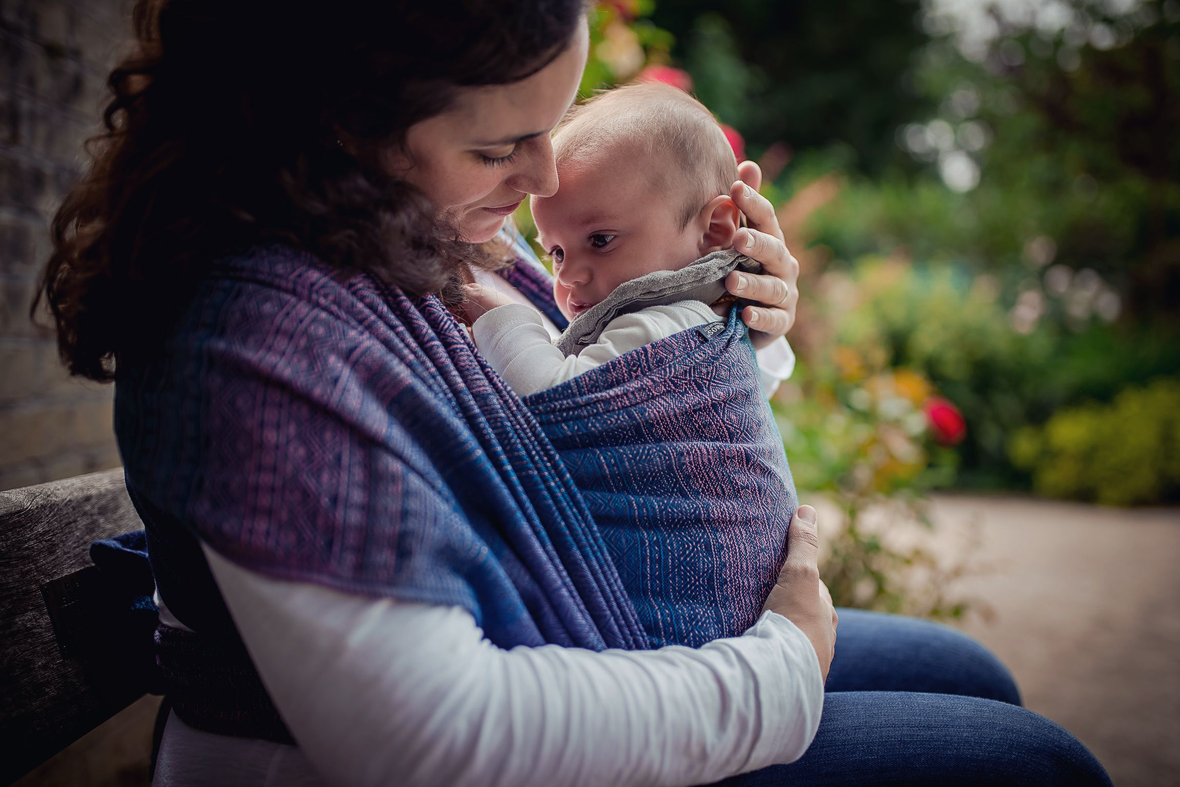 Baby Wrap Sling Prima Sole Occidente Didymos Babywrapsling