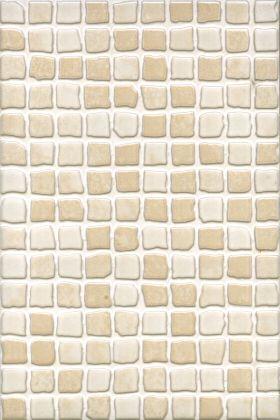 Beige Mosaic Bathroom Tiles