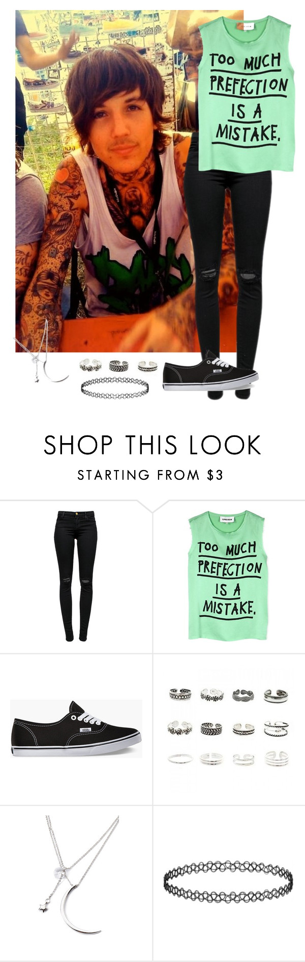 """Signing with Oliver"" by sp0ngebob ❤ liked on Polyvore featuring Sykes, J Brand, 5 Preview, Vans, Retrò, Forever 21 and Topshop"