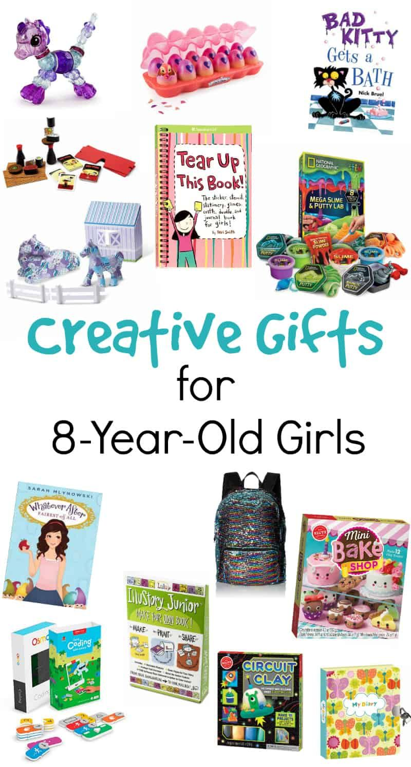 Gifts For 8 Year Old Girls That They Will LOVE