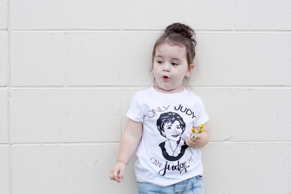9350cefdd Only Judy Can Judge Me *BLACK INK ONLY* Kids Tee | Kids Fashion ...