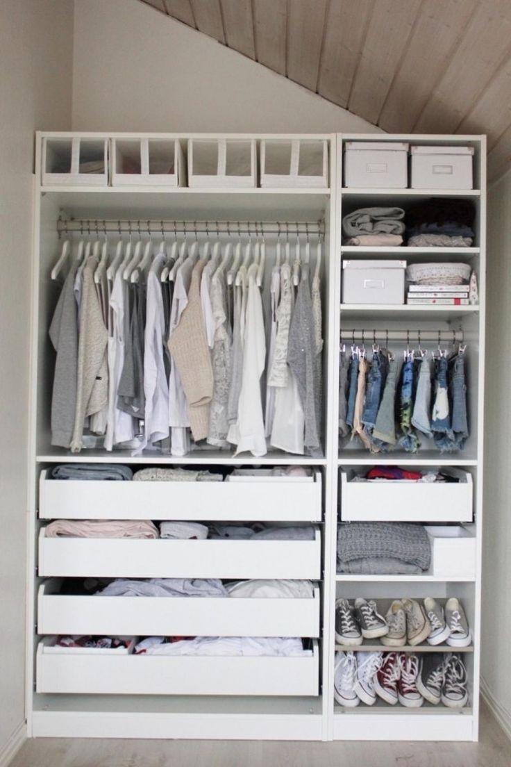 How To Organize Your Closet / Closet Shelf Ideas / Closet Storage / Closet  Layout Ideas