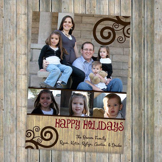 christmas cards happy holidays holiday greetings photo card family christmas card  www.etsy.com/shop/freshlysqueezedcards