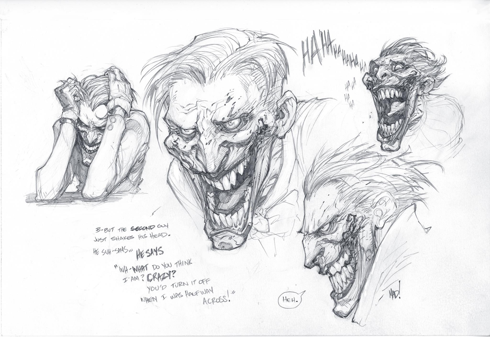 Joe Mad's warm-up of the Joker