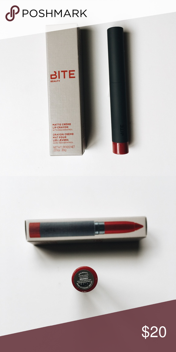 [NWT] Bite Beauty Matte Crème Lip Crayon in Brandy New in