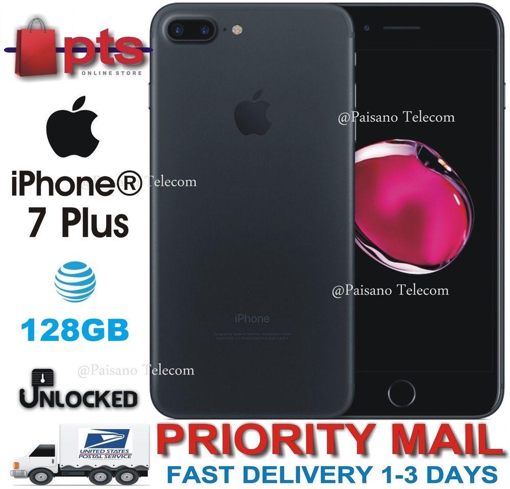 eBay #Sponsored Apple iPhone 7 Plus - 128GB - Black (AT&T