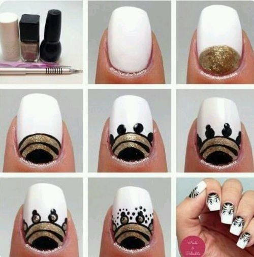 Tribal Nail Design - DIY Tutorial | DIY tutorial, Tutorials and ...