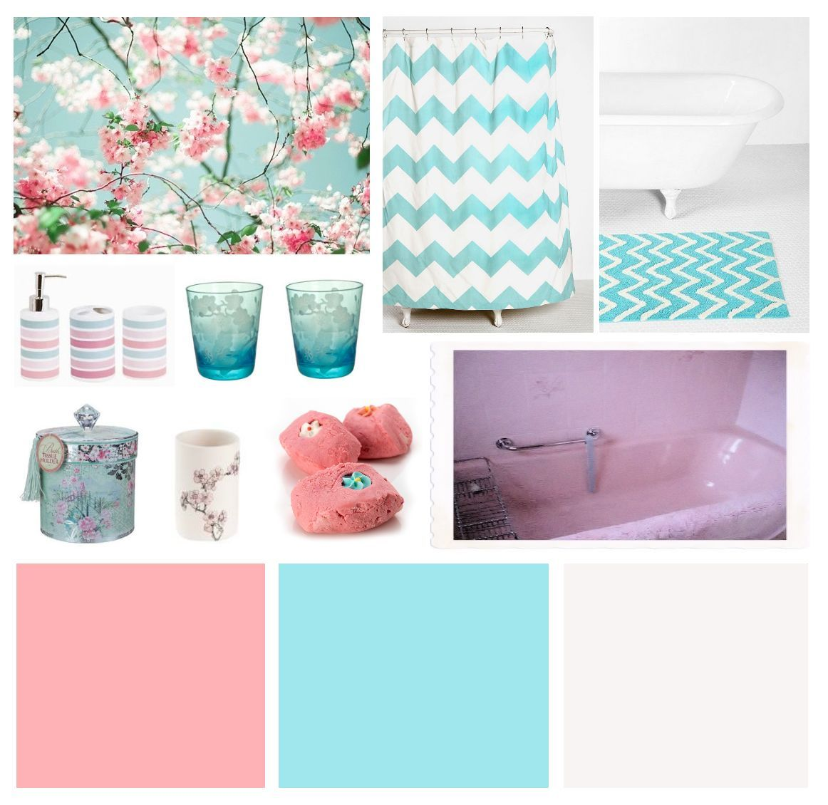 Pink bathroom suite - Colour Scheme For A Pink Bathroom Suite How To Modernize And Accessorize