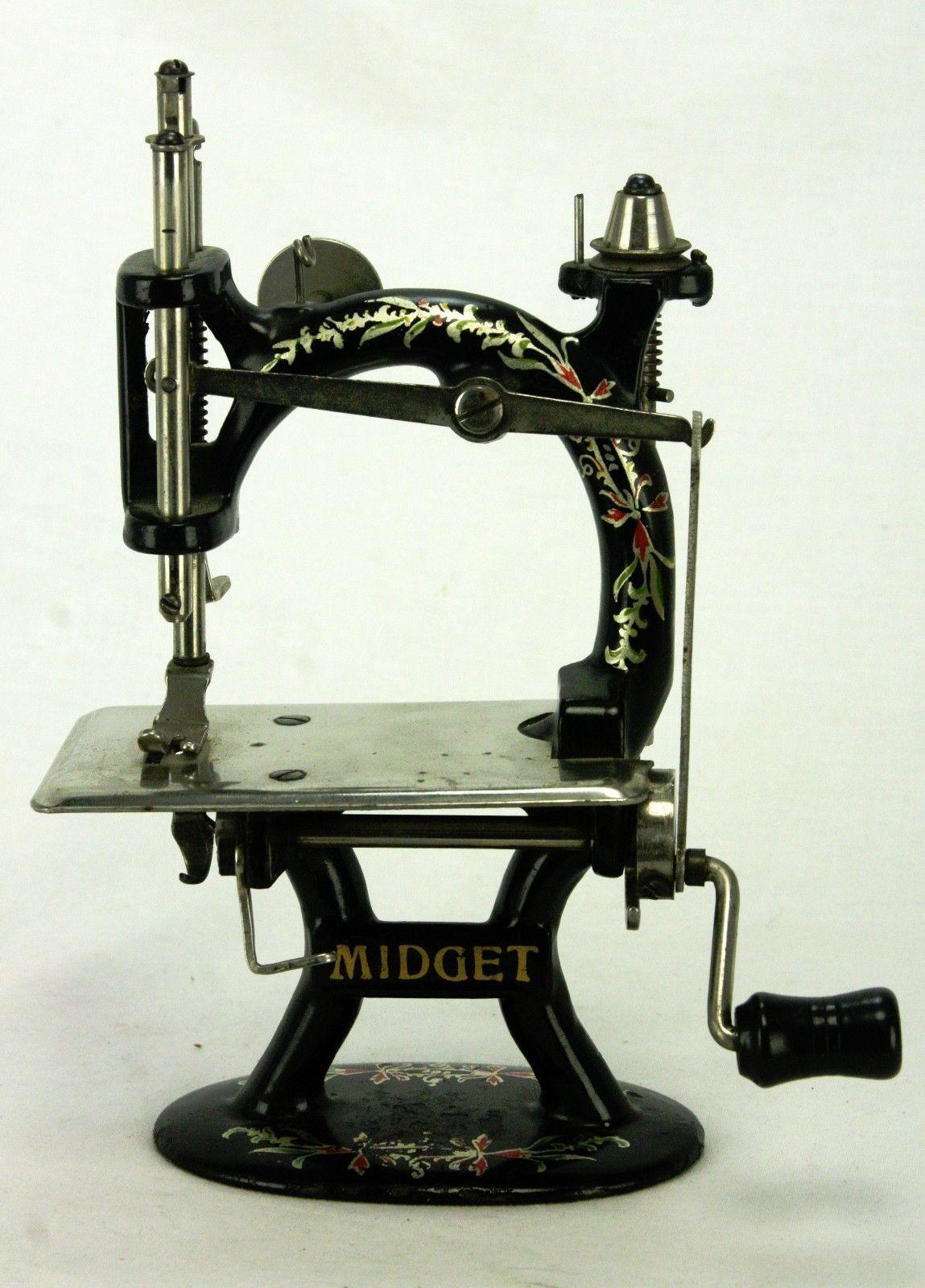 Midget sewing machine